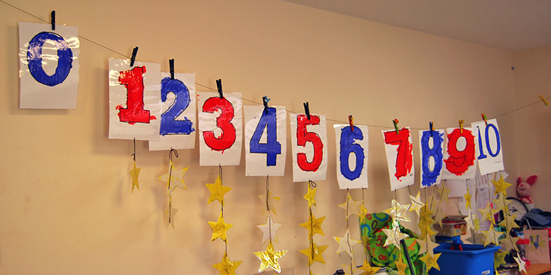 Painting numbers